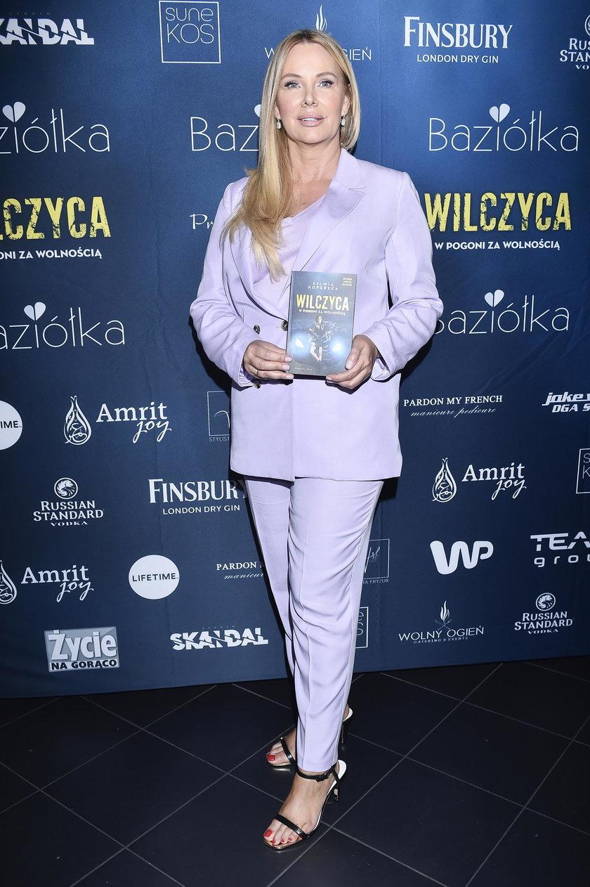 """Premiera książki Sylwii Koperskiej """"Wilczyca. W pogoni za wolnością"""