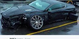 Koszmarny wypadek piłkarza Primera Division. Oto co zostało z auta!