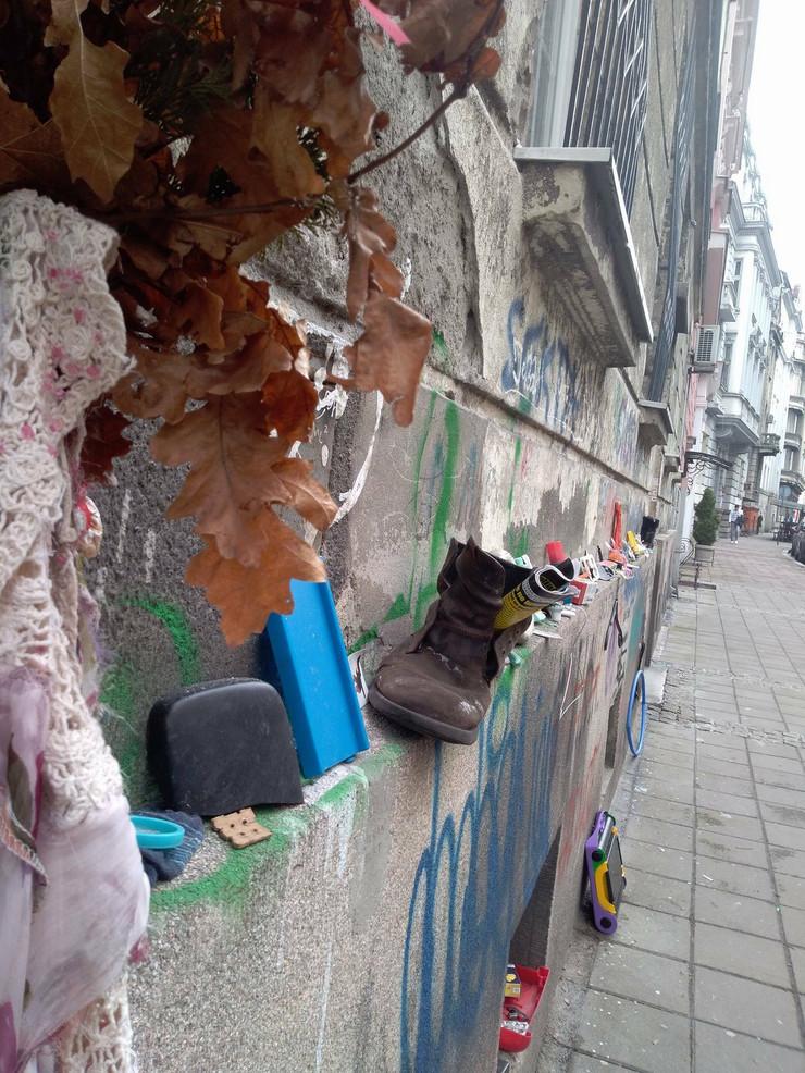 Izložba u Hilandarskoj ulici