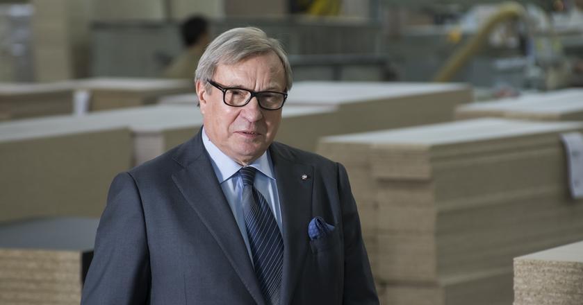 Maciej Formanowicz, prezes meblarskiej spółki Forte, która na rynku działa 25 lat.
