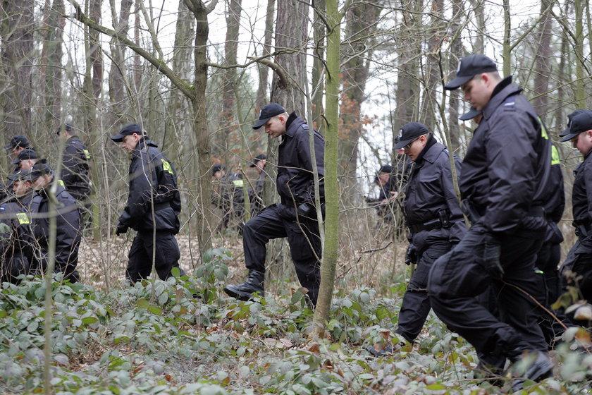 Poszukiwania śladów mordercy Agaty