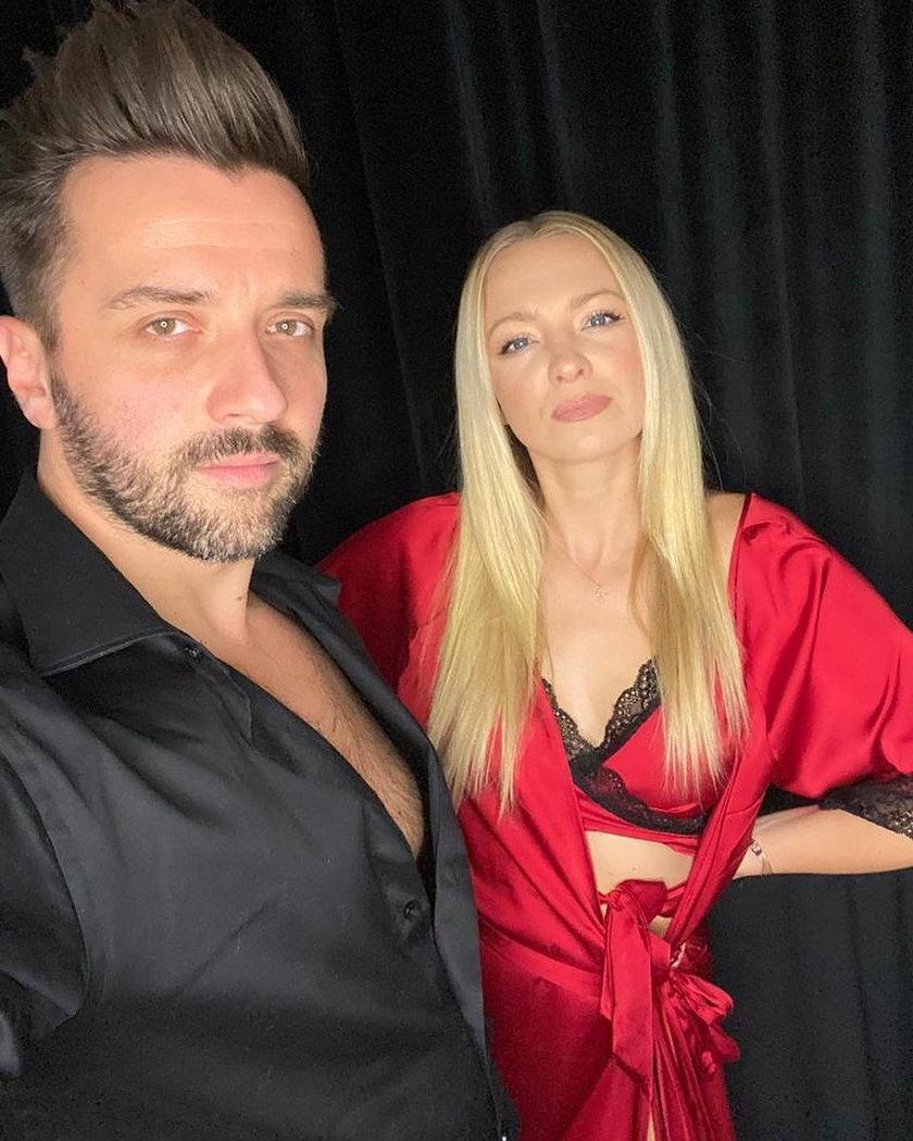 Rafał Szatan i Barbara Kurdej-Szatan