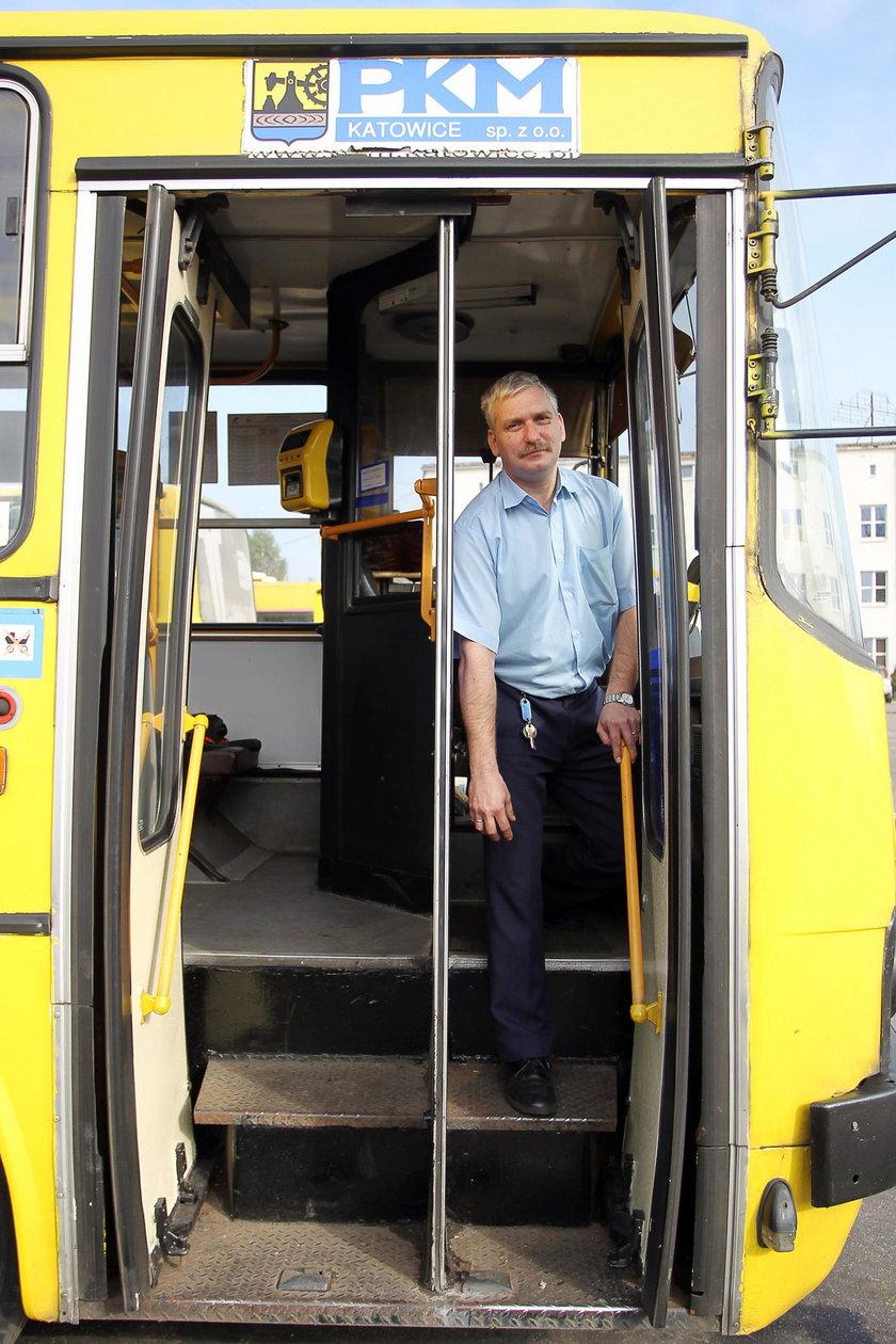 Leszek Tomeczek (36 l.), kierowca PKM w Katowicach