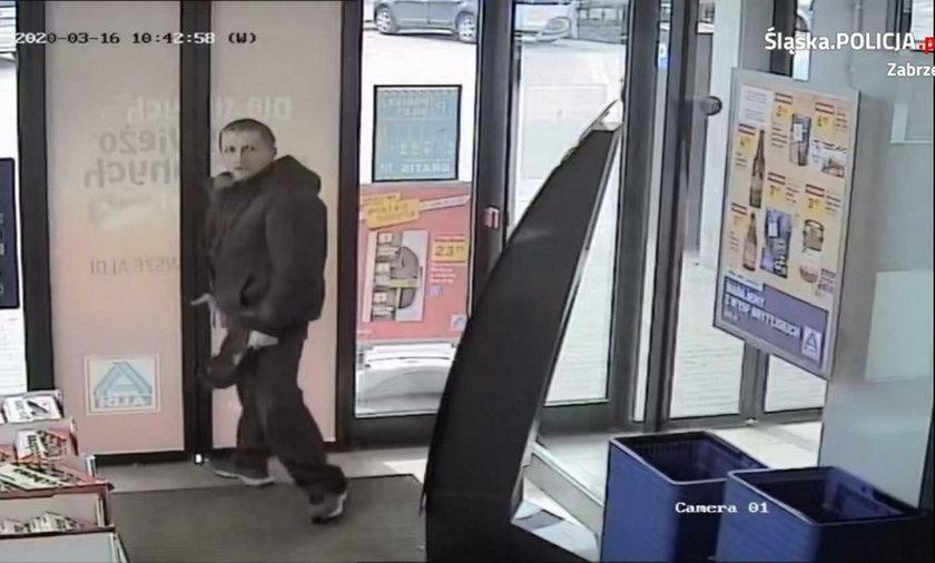 Szukają furiata, który kradł i groził użyciem noża.
