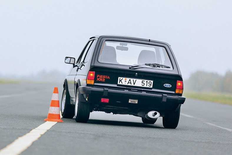 Fiesta XR2 - ognisty Ford