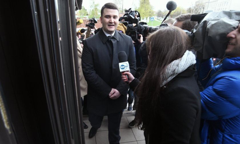 Bezczelność Misiewicza przed partyjnym sądem. To powiedział o młodych Polakach