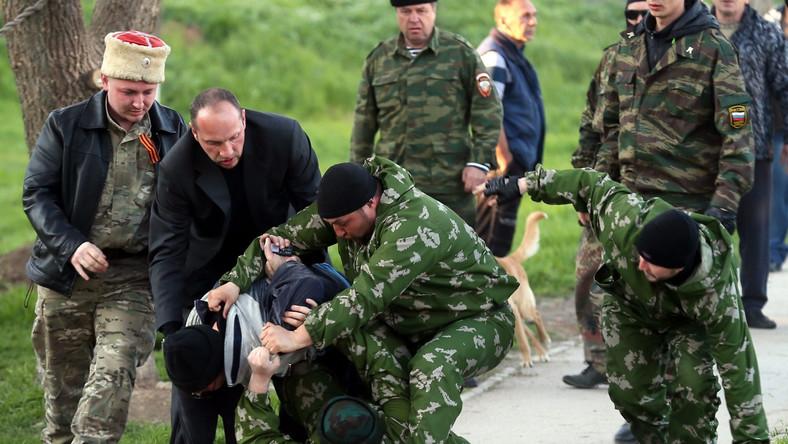 Kolejna baza na Krymie przejęta przez Rosjan