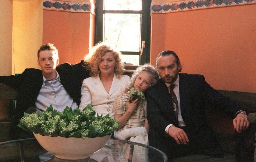 Magda Gessler z rodziną