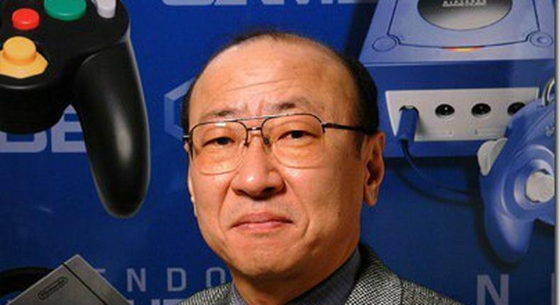 Newly selected Nintendo CEO, Tatsumi Kimishima