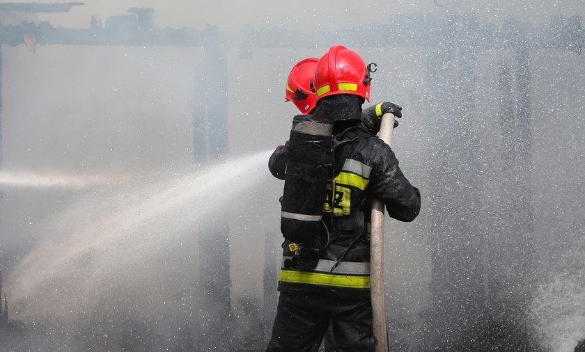 Jedna śmiertelna ofiara pożaru w Kościelcu
