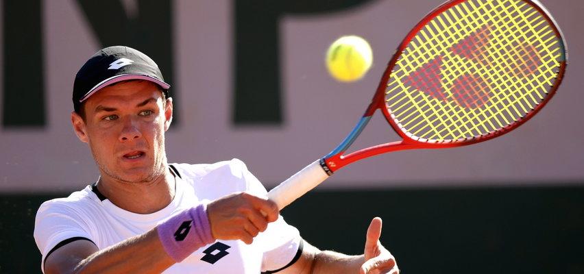 Kamil Majchrzak po raz pierwszy w drugiej rundzie French Open