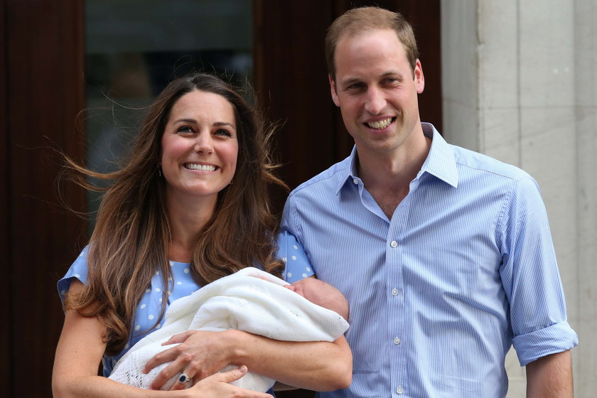 Kate i William z synem Georgem