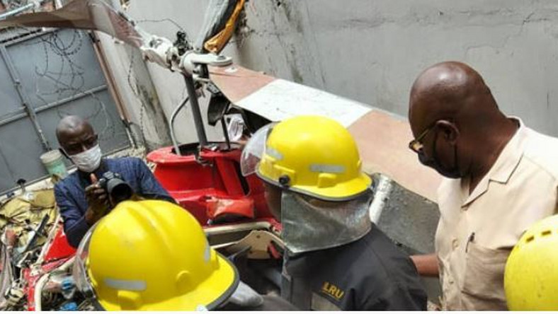 Third victim Lagos helicopter crash is dead. (Punch)