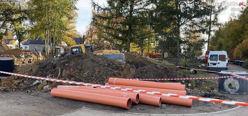 Tragedia w Gliwicach. Młody mężczyzna zginął w potwornych okolicznościach