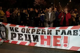 Ne okraći glavu, protest, Aranđelovac