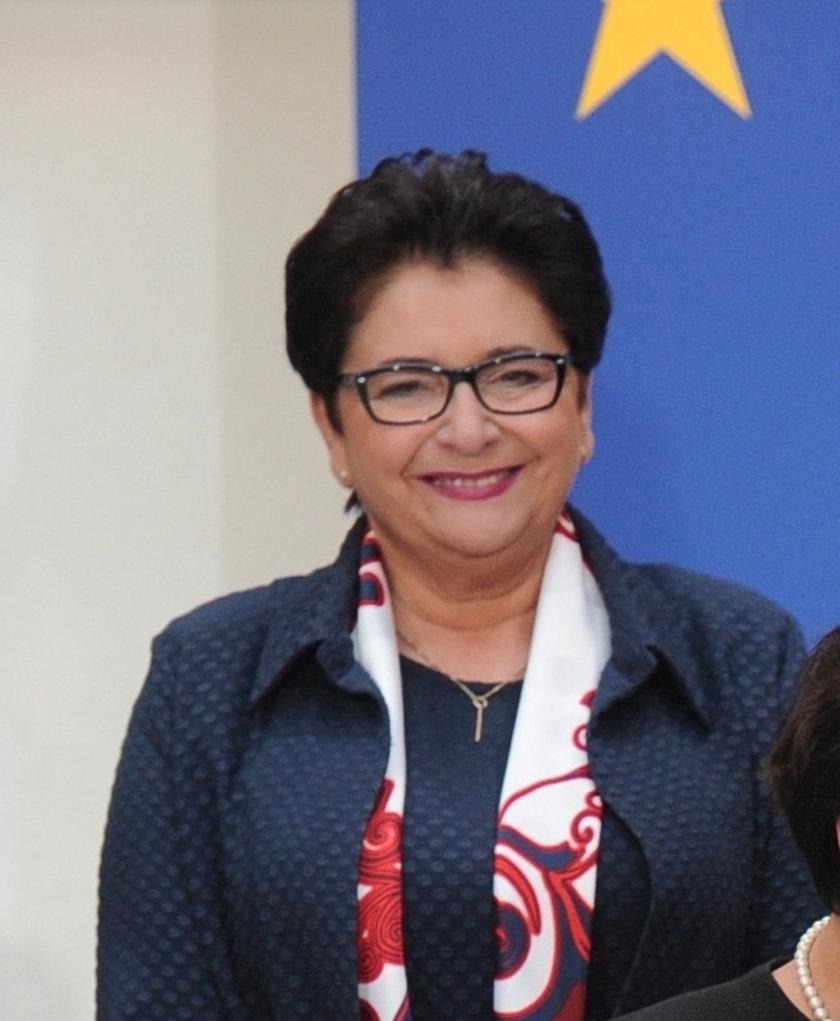 Teresa Piotrowska, kandydatka na szefową MSW