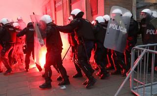 Poboży: Nagranie potwierdza profesjonalne działanie policji na rondzie de Gaulle'a podczas Marszu Niepodległości
