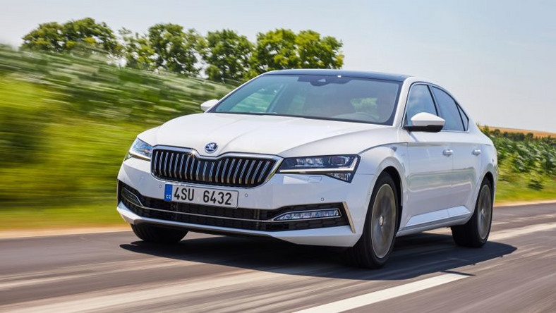 Skoda Superb po liftingu