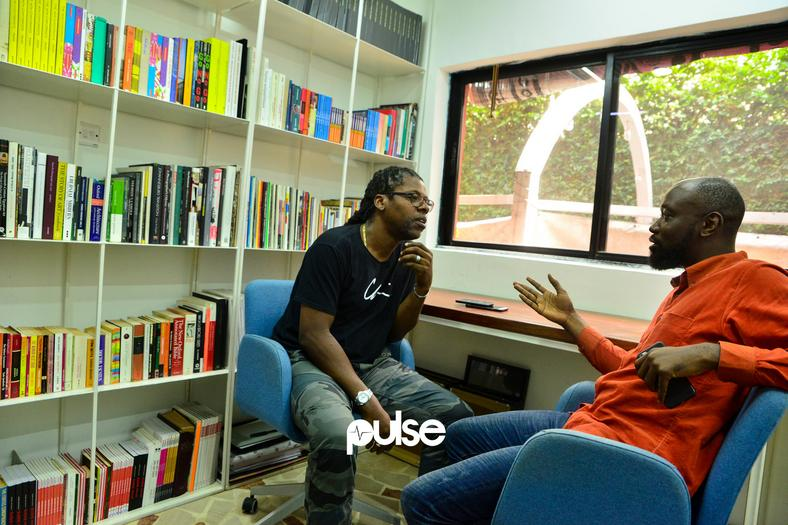 Chi Modu and I talking about Hip-Hop (Pulse)