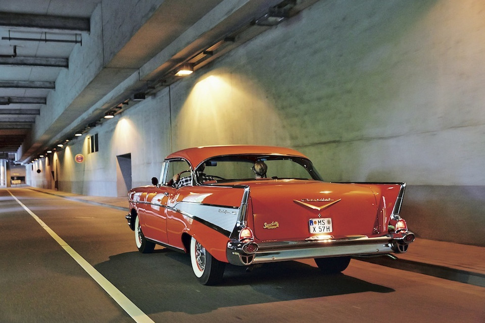 Chevrolet Bel Air Hardtop coupe (1955-57)