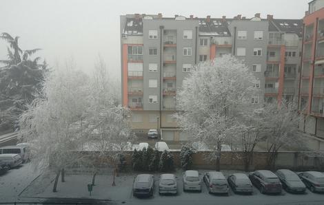 Sneg na Grbavici