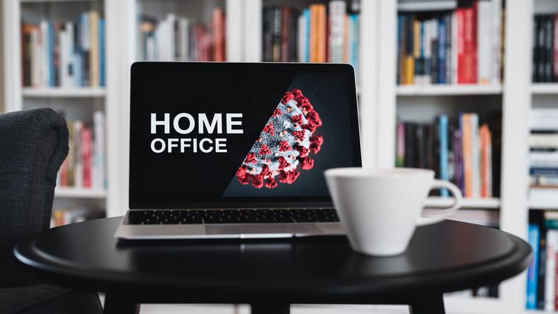 Praca zdalna. Telepraca. Home office. Koronawirus