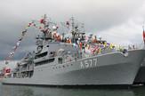 """Turski brod """"Sokullu Mehmet Pasa"""" deplasmana 3.000 tona, dug je 99 metara, širok 12 metara, plovi brzinom od 20 čvorova i opslužuje ga 156 članova posade"""