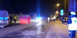 Wypadek w Opocznie. Śmierć kobiety na drodze