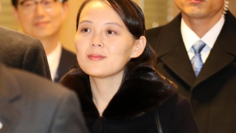 30-latka pojawiła się dziś w Korei Południowej...