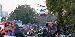 Cysterna eksplodowała na stacji. Są ofiary i ranni