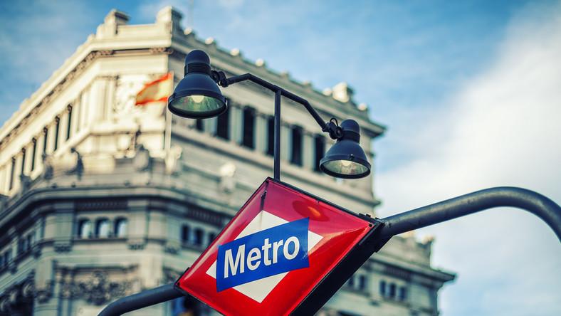 Madryt, wejście do metra