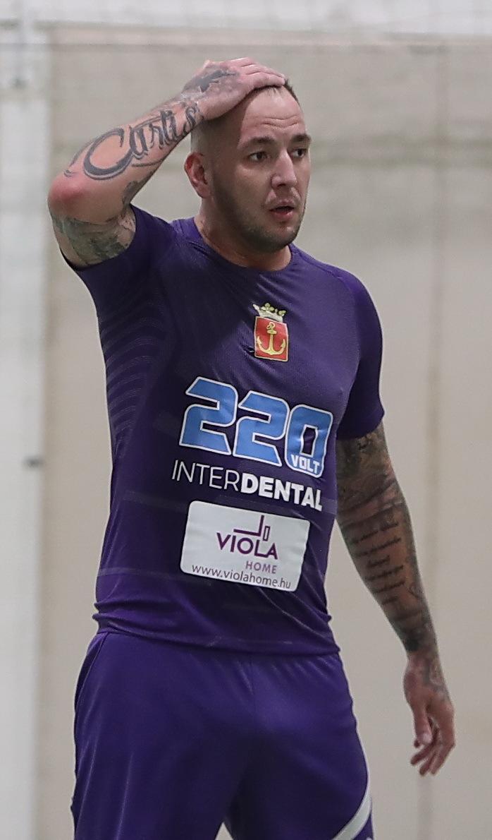 Széki Attila, azaz Curtis nem hagyhatta, hogy bántsák fiatalabb csapattársát / Foto: Pozsonyi Zita