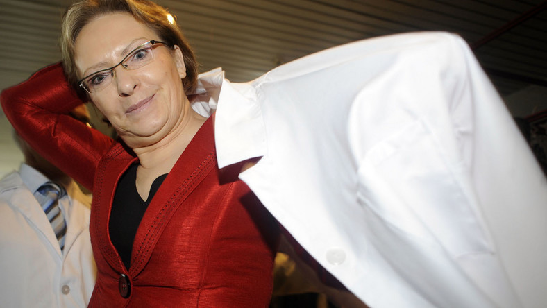 Minister zdrowia Ewa Kopacz odchodzi z rządu