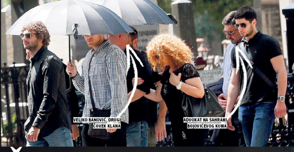 Ognjanović na sahrani Dragoslava Miloradovića