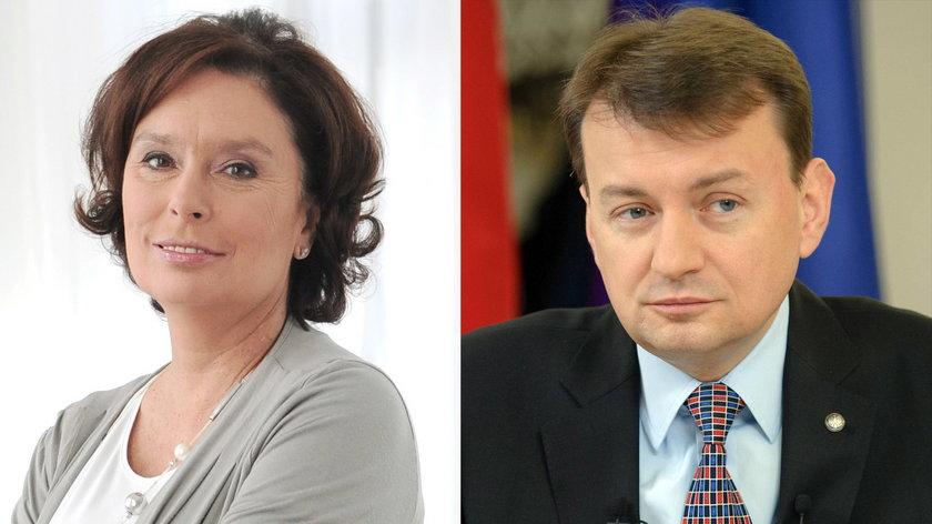Małgorzata Kidawa-Błońska pokonała Błaszczaka