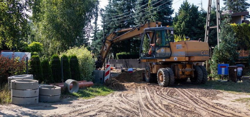 Budują ulicę na Junikowie