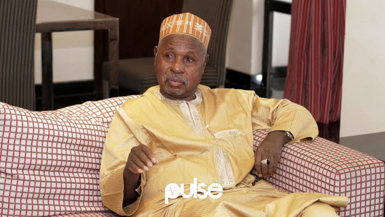 Aminu Masari won re-election as Katsina State governor a few days after the abduction