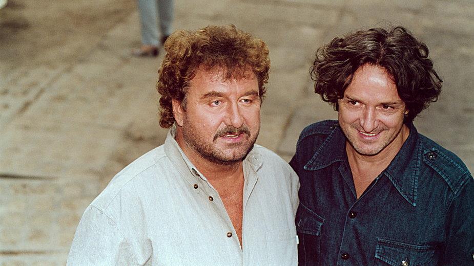 Krzysztof Krawczyk i Goran Bregović (2001 r.)