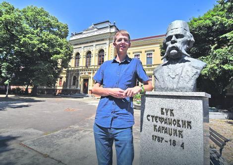 Naučio i srpski: Vinsent Rajhard u Novom Sadu