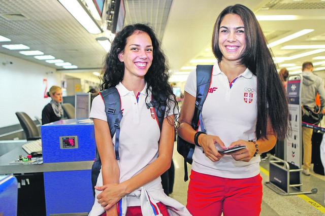 Milica Mandić i Tijana Bogdanović