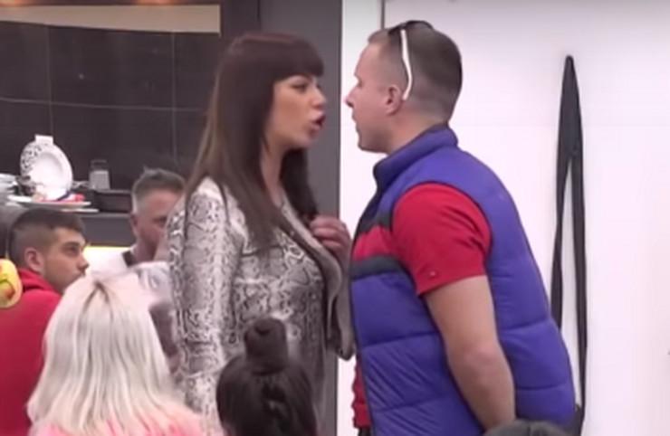 """STRAŠAN HAOS U """"ZADRUZI 3"""": Miljana Kulić i Nikola se žestoko izvređali, usledilo pljuvanje i sukob, a obezbeđenje sprečilo krvoproliće!"""