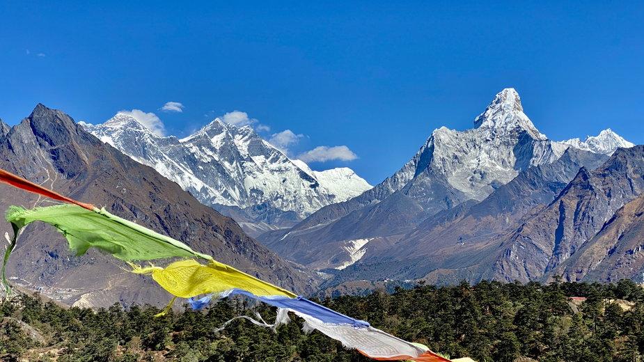 Himalaje Nepalu, Everest, Lhotse i Ama Dablam