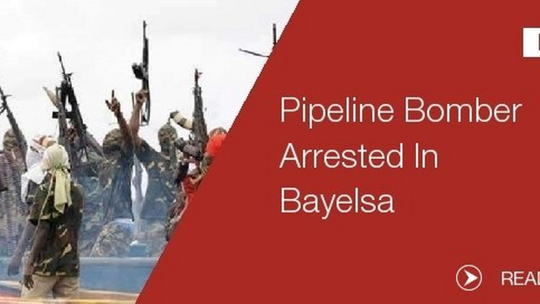 Niger Delta Mastermind of Agip pipeline bombing arrested