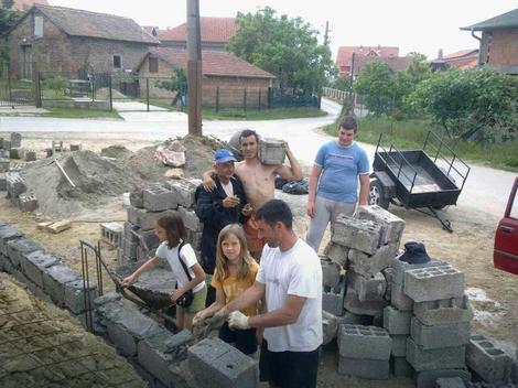 Vojkan Krstić u ranijim akcijama