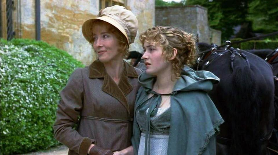 """Marianne i Elinor, """"Rozważna i romantyczna"""", reż. Ang Lee, 1995 r."""