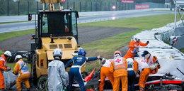 Koszmarny wypadek w Grand Prix!