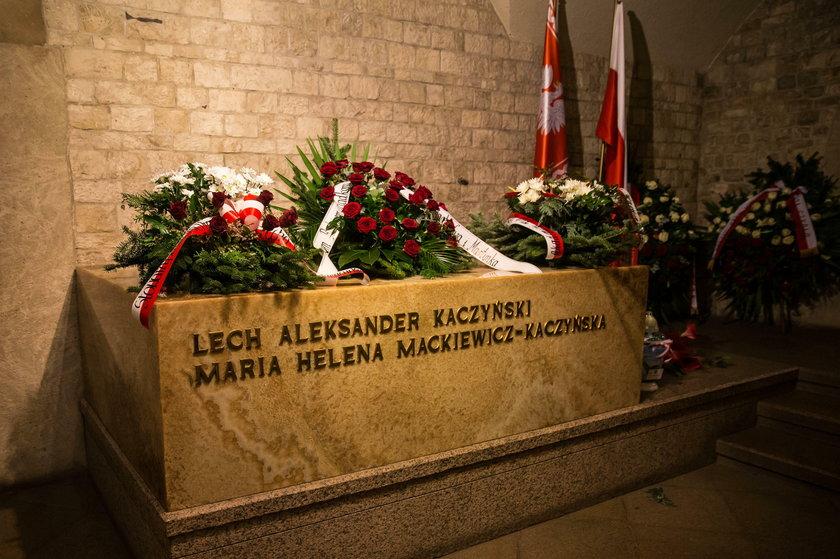 Grób Lecha i Marii Kaczyńskich