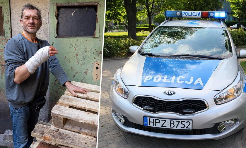 Szybka reakcja policjantów uratowała panu Zbigniewowi życie