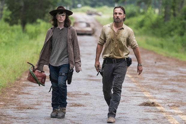 """""""The Walking Dead"""": kadr z serialu"""