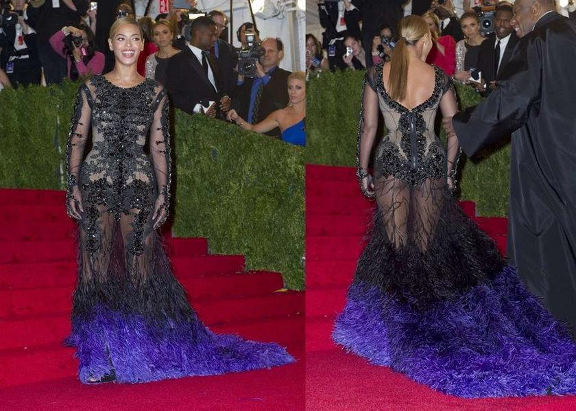 Beyonce Met Ball 2012